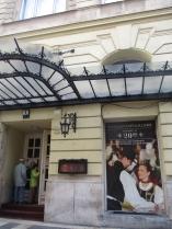 Theater mit ungarischem Tanz