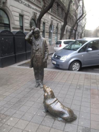 :D Und dann steht da plötzlich Columbo mit seinem Hund