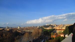 Blick über mein geliebtes Rom