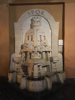 Ein Trinkbrunnen in der Via Margutta