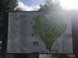 Der Park hat die Form eines Herzen <3